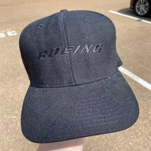 Blacked Out Boeing Dad Hat